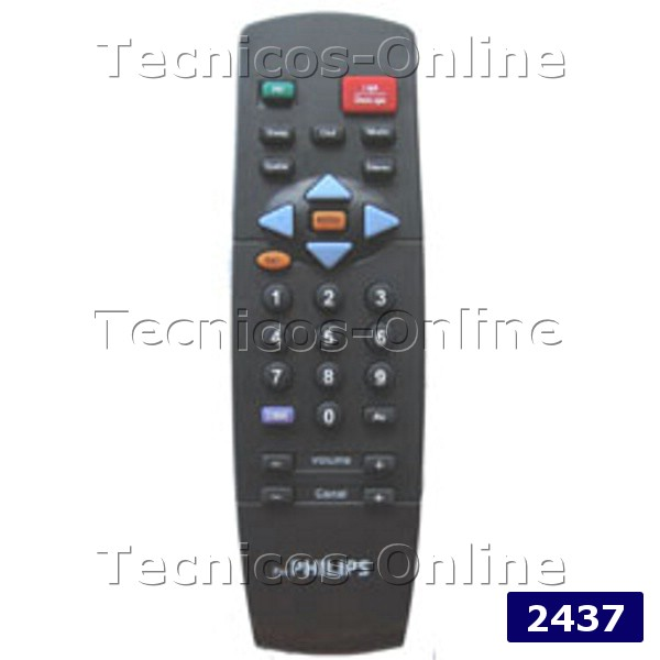 2437 Control Remoto TV RC7847 PHILIPS