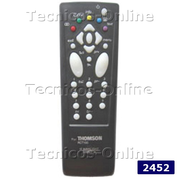 2452 Control Remoto TV GE GENERAL ELECTRIC