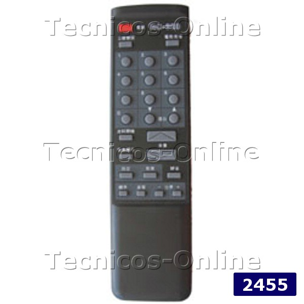 2455 Control Remoto TV RC-328 TALENT TELEFUNKEN
