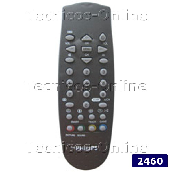 2460 Control Remoto TV PHILIPS