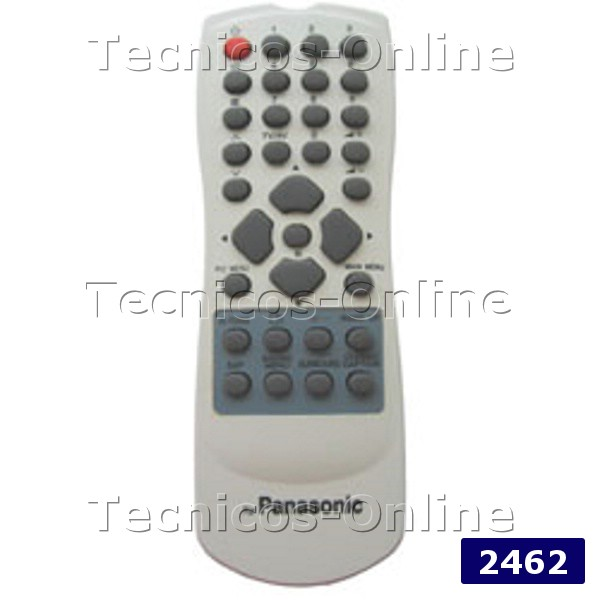 2462 Control Remoto TV PANASONIC