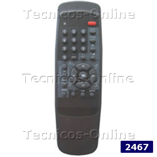2467 Control Remoto TV TK2138 KEN BROWN TALENT TONOMAC