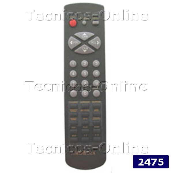 Tecnicos Online 2475 Control Remoto Tv 3f14 00038 130