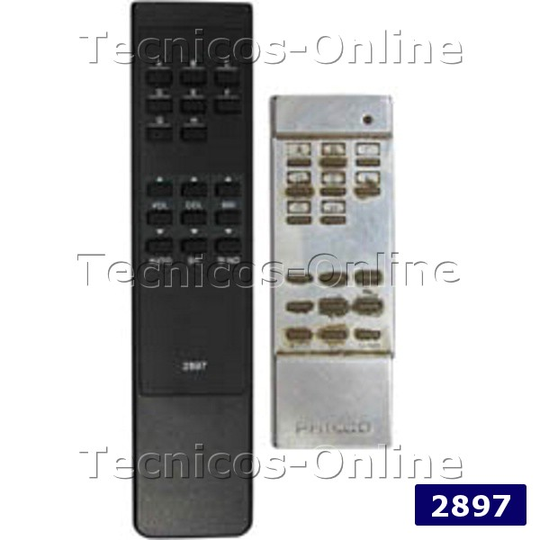 2897 Control Remoto TV PHILCO RC9