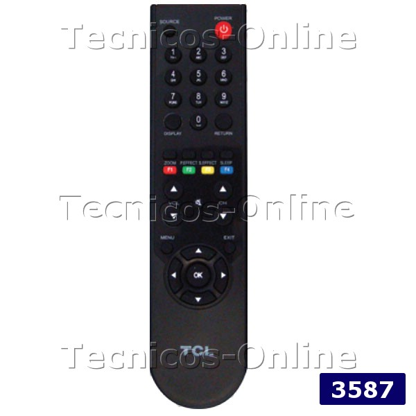3587 Control Remoto LCD TCL