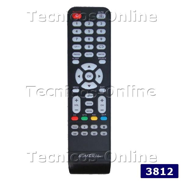 3812 Control Remoto LCD ADMIRAL