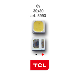 LED PARA TIRA RETRO 3v 3x3mm TCL 5993