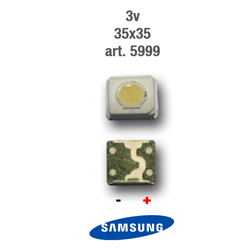 LED Retro Led 3V 3,5X3,5mm SAMSUNG 5999