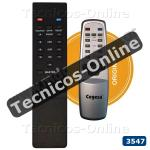 3547 Control Remoto AUDIO HOME CEGESA