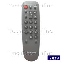 2429 Control Remoto TV PANASONIC