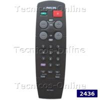 2436 Control Remoto TV RC7802 RC7805 PHILIPS