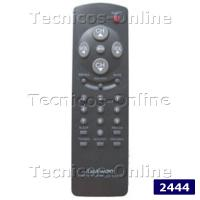 2444 Control Remoto TV R-25C04 DAEWO DREAM ITT NOKIA PHILCO