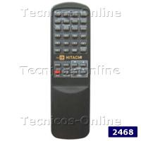 2468 Control Remoto TV CR913 HITACHI