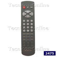 2475 Control Remoto TV 3F14-00038-130 GENERAL ELECTRIC NOBLEX