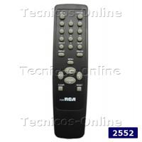 2552 Control Remoto TV RCA GENERAL ELECTRIC