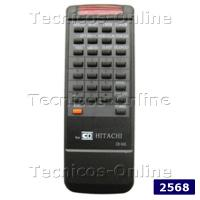 2568 Control Remoto TV CR910 HITACHI