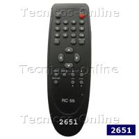 2651 Control Remoto TV RC55 AUDIOLOGIC KEN BROWN SERIE DORADA