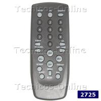 2725 Control Remoto TV NISATO CCE TALENT TOP HOUSE