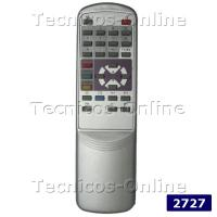 2727 Control Remoto TV DURABRAND TOP HOUSE