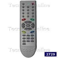 2729 Control Remoto TV DURABRAND TOP HOUSE HYUNDAI