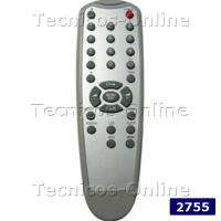 2755 Control Remoto TV ADMIRAL CROWN MUSTANG PHILCO