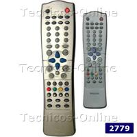 2779 Control Remoto TV PHILIPS CON PIP