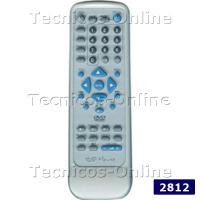2812 Control Remoto DVD TOP HOUSE
