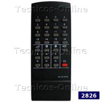 2826 Control Remoto TV SHARP DREAN SANYO