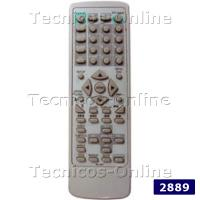2889 Control Remoto TV RC-207 BLUESKY