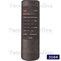 3104 Control Remoto TV SHARP RC136