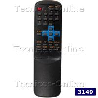 3149 Control Remoto TV DURABRAND TOP HOUSE