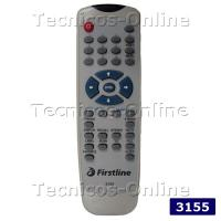 3155 Control Remoto TV FIRST LINE PANORAMIC RANSER SERIE DORADA