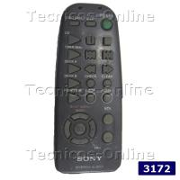 3172 Control Remoto AUDIO SONY