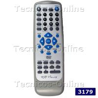 3179 Control Remoto DVD TOP HOUSE