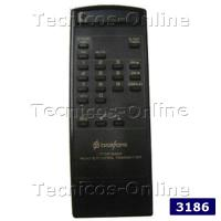 3186 Control Remoto TV BROKSONIC