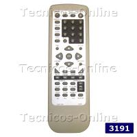 3191 Control Remoto DVD-224 COBY