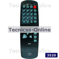 3520 Control Remoto TV NOBLEX TOP HOUSE