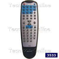 3533 CONTROL REMOTO DVD TOP HOUSE DVD-1800