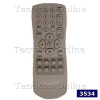 3534 Control Remoto TV LCD TCL