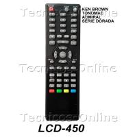 3831 LCD-450 Control Remoto TV LCD KEN BROWN ADMIRAL