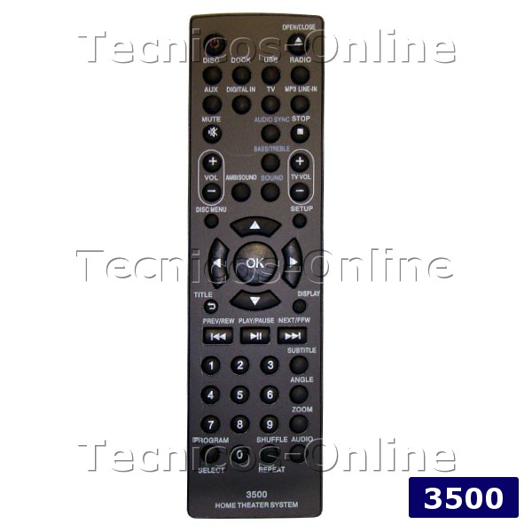 3500 Control Remoto AUDIO PHILIPS
